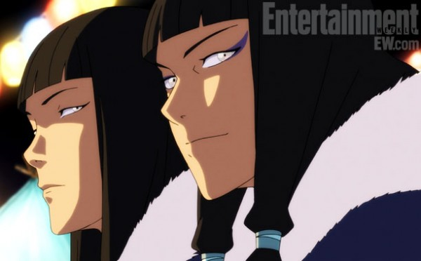 Korra's Twin Cousins. Image provided by EW.