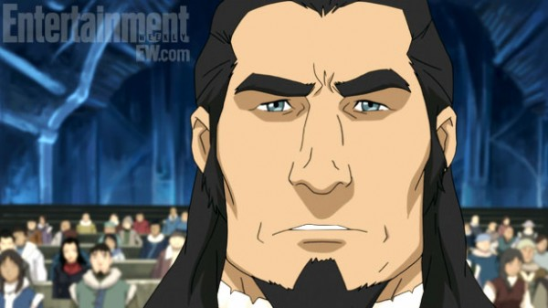 Korra's Father. Image provided by EW.