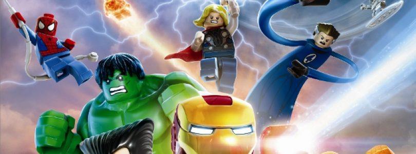 LEGO Marvel Super Heroes Debuts Cover Art