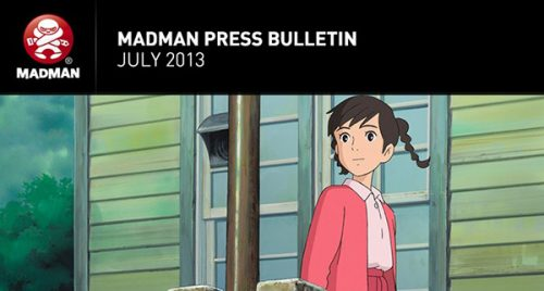 Madman's July 2013 Release Roundup
