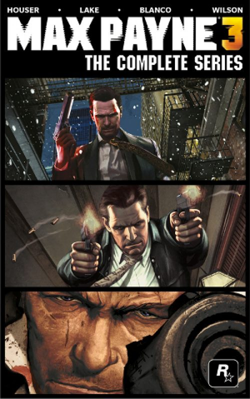 Max Payne 3: The Complete Series Graphic Novel on the Way