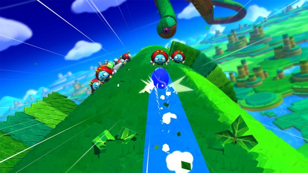 Sonic Lost World 3ds : Sonic lost world gameplay from nintendo direct capsule