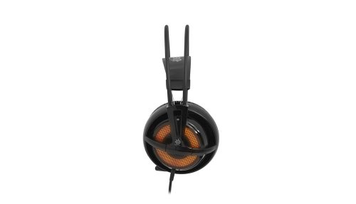 SteelSeries Siberia v2 Heat Orange Edition Lights Up Stores