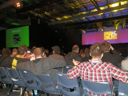 Xbox One Presentation at PAX Aus