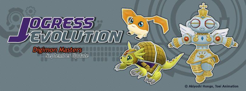 Digimon Masters Enters Jogress Evolution