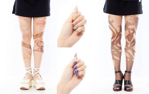 Madoka Nails and Stockings Now Available