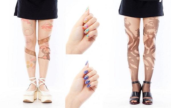 Madoka-Stockings-Nails-Pic