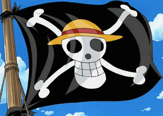 The Straw Hat Jolly Roger!