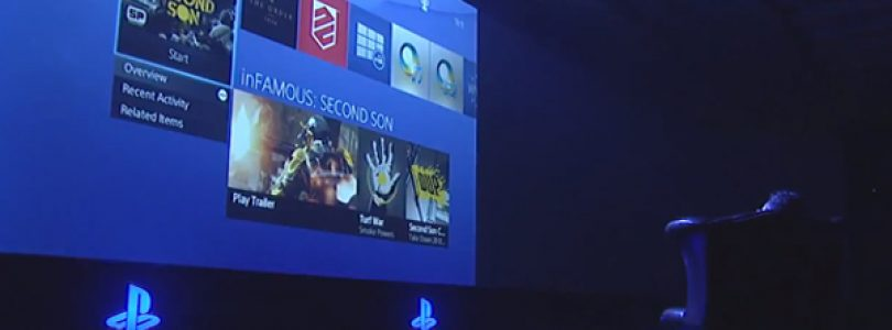 Shuhei Yoshida Demonstrates PS4 UI Live at Gamescom