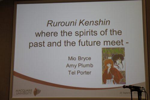 Rurouni Kenshin Panel – SMASH! 2013