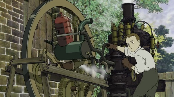 Mr. Matsubara also worked on Steamboy.