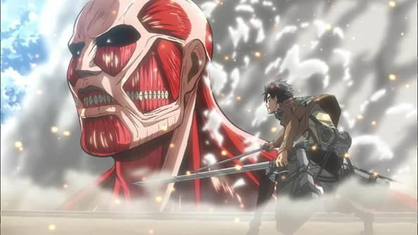 Eren Jaeger vs The Colossal Titan