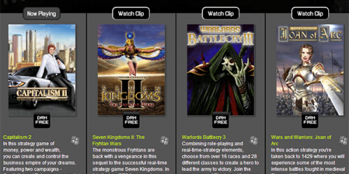 Bundle Stars Releases Strategy Classics DRM-Free Bundle