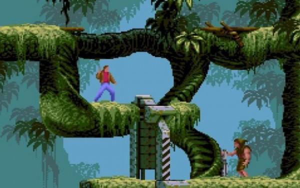 The original game, Flashback.