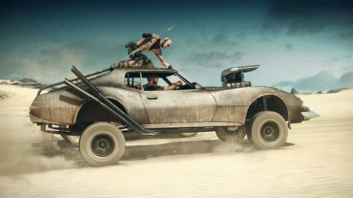 New Mad Max Screenshots from Gamescom