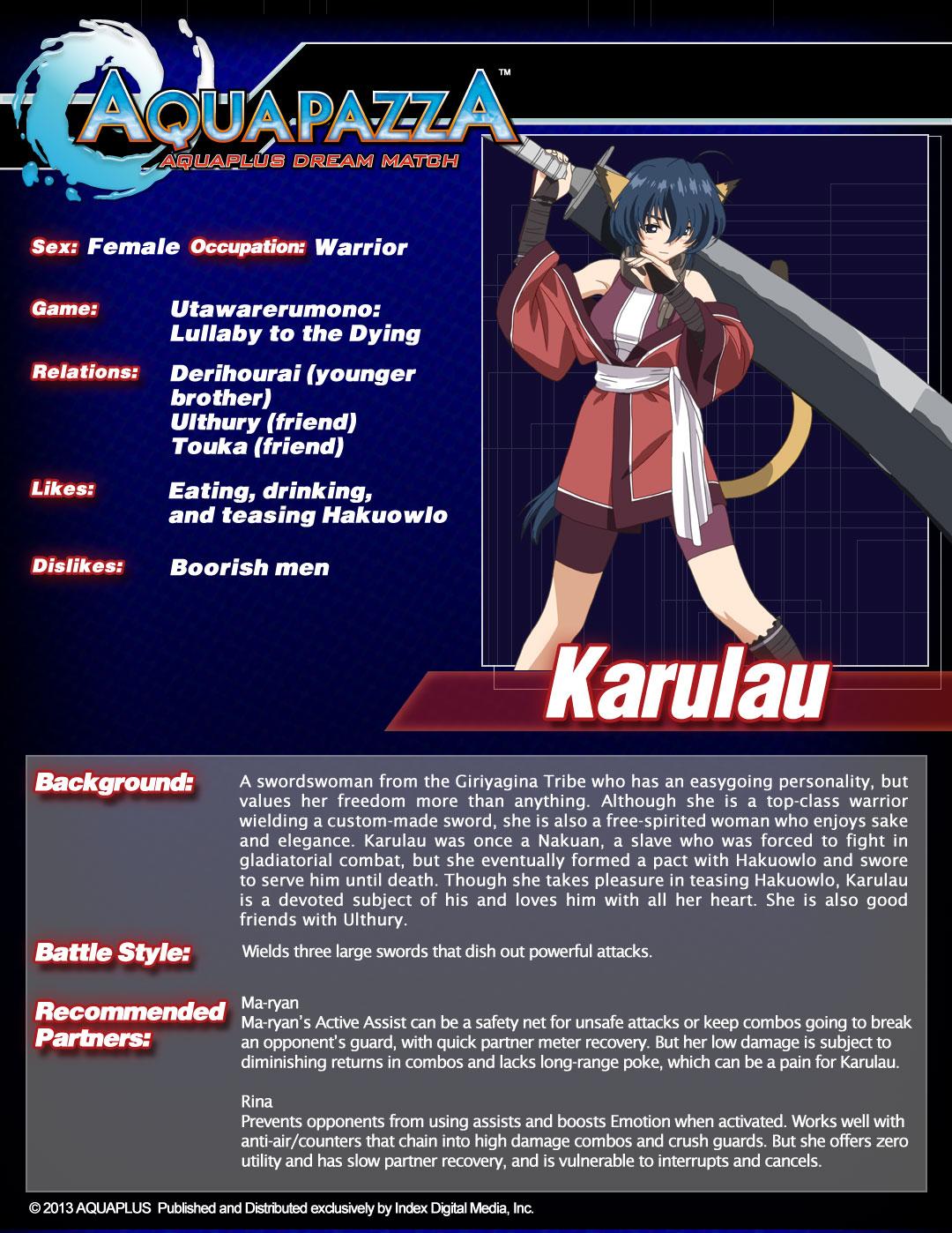 Aquapazza-Char-sheet-Karulau