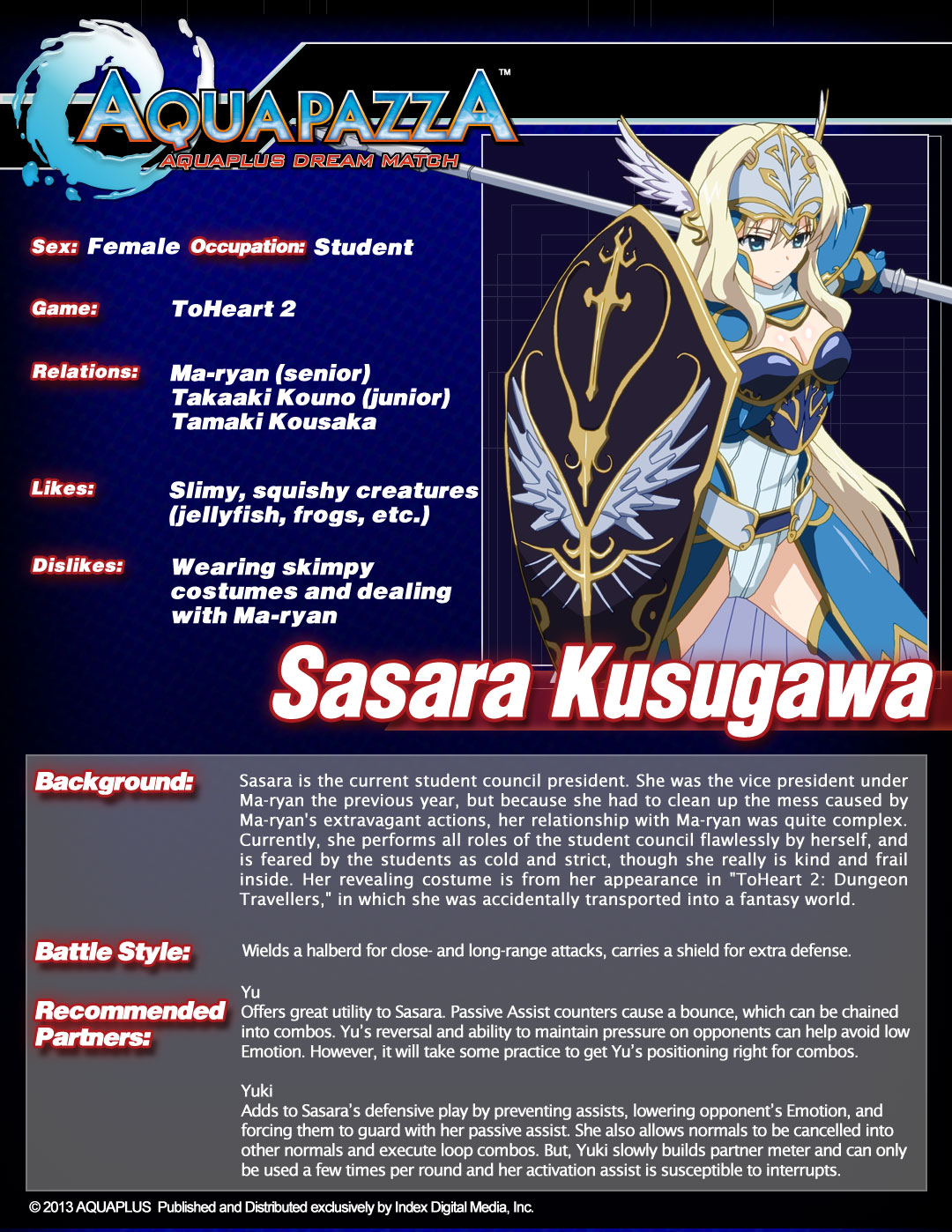 Aquapazza-Char-sheet-Sasara