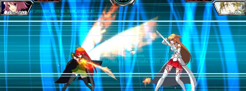 Dengeki Bunko Fighting Climax features Shana and Sword Art Online fighters