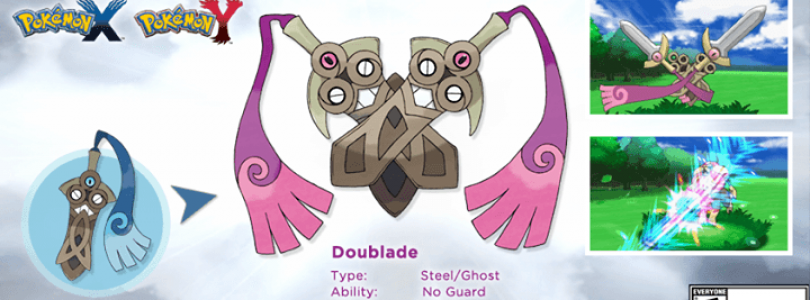 """New Pokemon Released For X and Y – """"Doublade"""""""