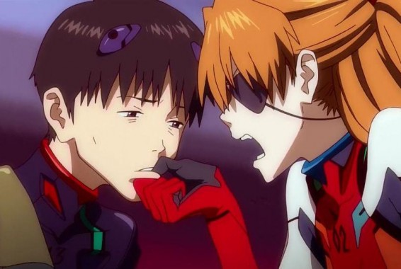 """Say something, stupid Shinji!"""
