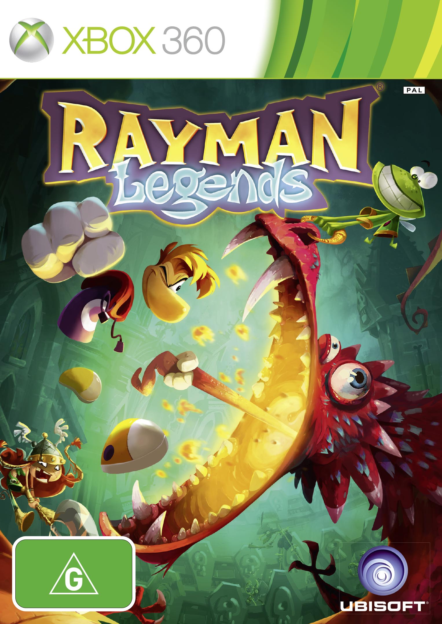 Rayman Legends 360 inlay ANZ.indd