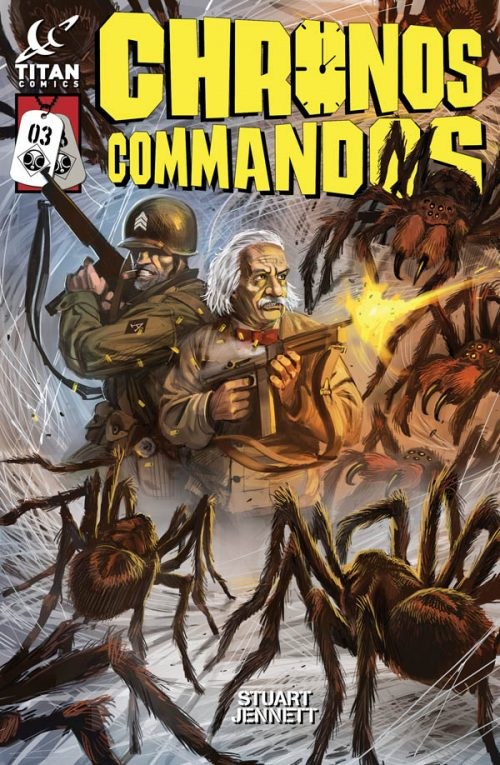 Chronos Commandos #3 Preview