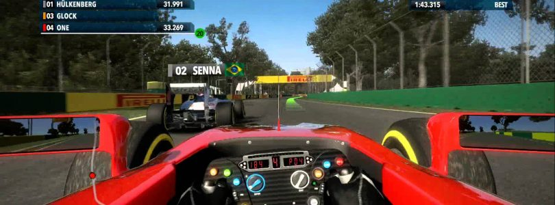 F1 2013 Jerez Classic Hot Lap Video