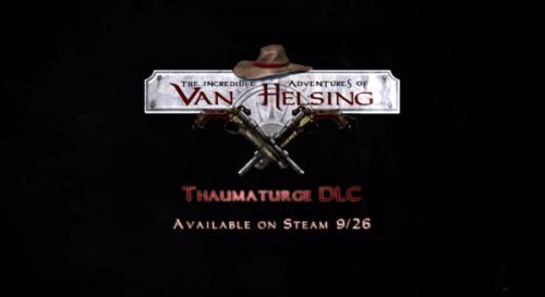 Van Helsing Gets New Playable Character, DLC