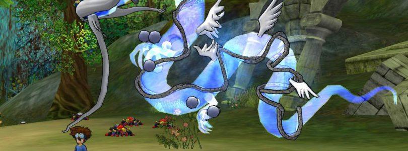 Qinglongmon Arrives in Digimon Masters
