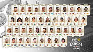 FIFA 14 Xbox One Preview Event, Legends Figo, Romário and Nedvěd Revealed