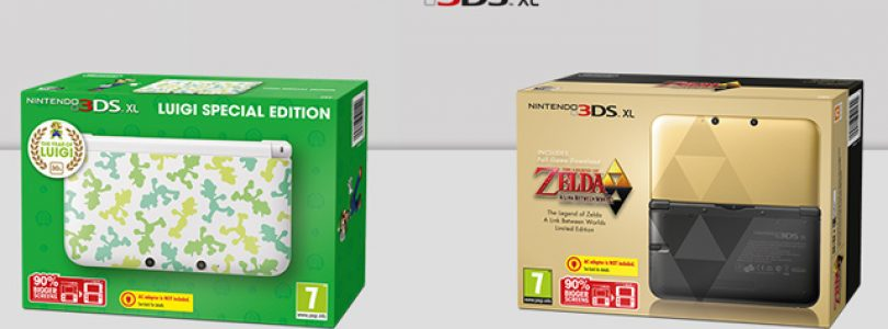 Limited Edition Zelda and Luigi 3DS XL Models Announced
