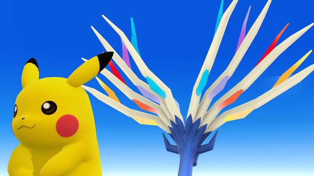 - Pikachu and Xerneas? -