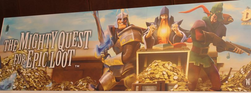 Mighty Quest for Epic Loot Interview at EB Expo 2013
