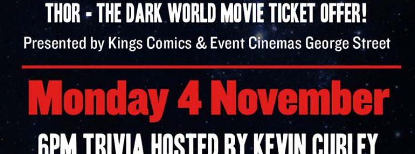 Thor: The Dark World Trivia Night at EVENT Cinemas George St