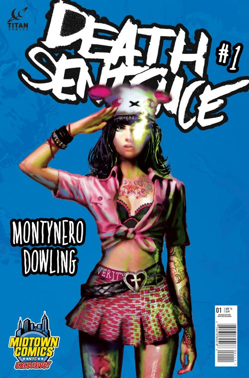 Death Sentence #2 Full Sell-out And Reprint