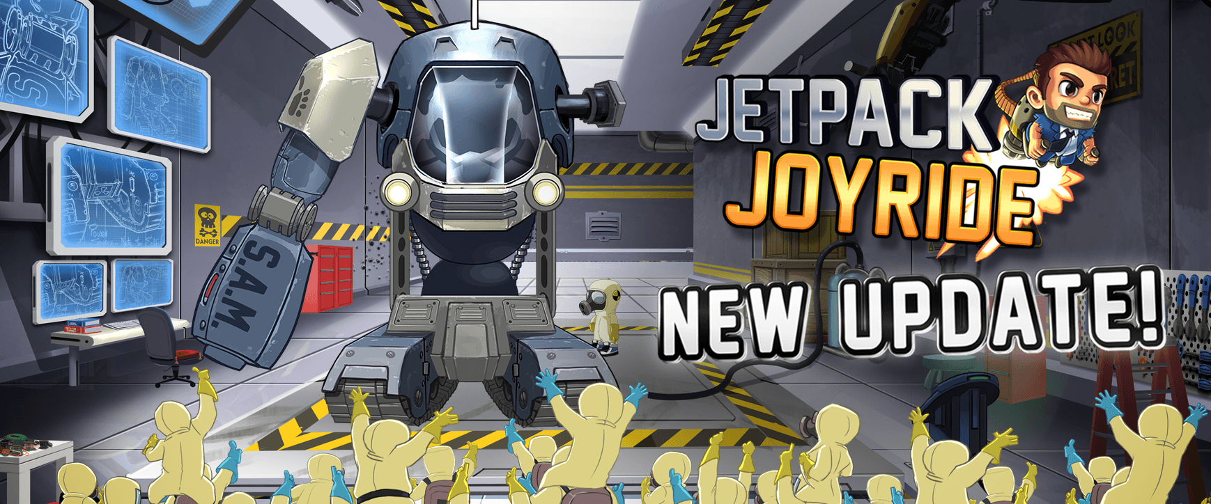 Jetpack Joyride Gets A Huge Update In Time For Christmas – Capsule ...