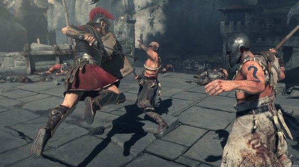 - A Gameplay Screenshot Of Ryse: Son Of Rome -