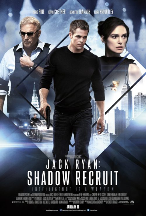 New Poster for Jack Ryan: Shadow Recruit