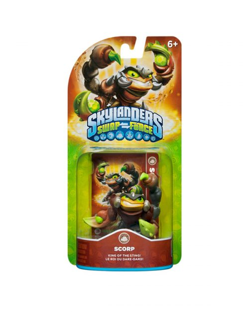 Check Out the Second Wave of Skylanders: Swap Force Figures