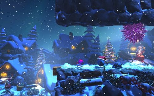 All New Giana Sisters Christmas Level Available Now For Free