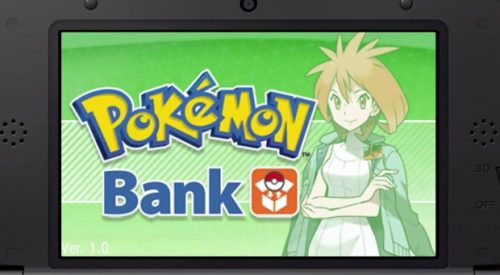 Pokemon Bank Temporarily Removed From Nintendo eShop