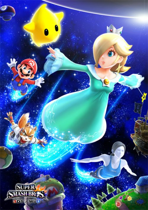 Rosalina Joins Super Smash Bros. and Mario Kart 8
