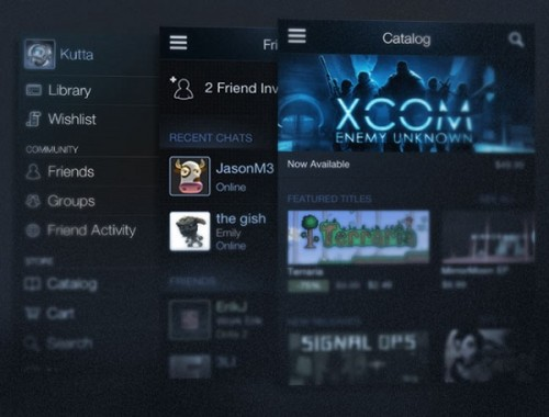 Steam Mobile Receives Update for iOS – Capsule Computers