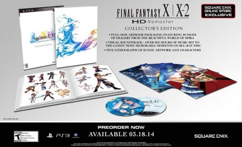 Final Fantasy X/X-2 HD Remaster Collector's Edition Revealed