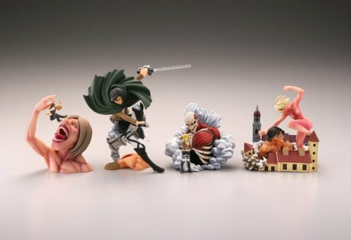 """Second Set of """"Attack On Titan"""" Mini Figures To be Released In March"""