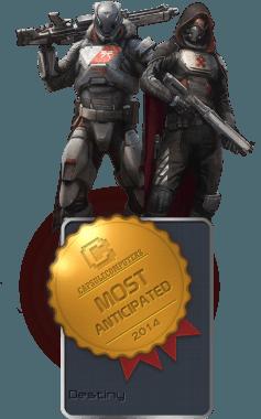 Destiny Badge-MOST ANTICIPATED