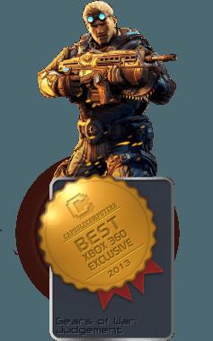 Gears of War Judgement Badge-XBOX