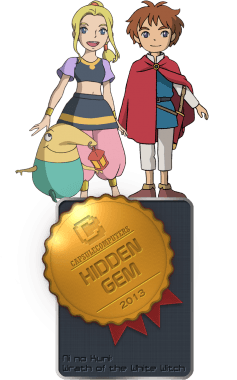 Ni no Kuni Wrath of the White Witch Badger-HIDDEN GEM