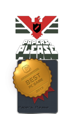 Papers, Please Badge-PC