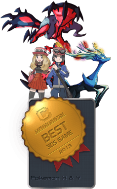Pokemon X & Y Badge-3DS